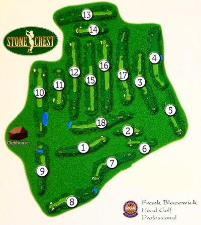 Stonecrest Hole Map